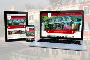 Nuovo sito per la Locanda Cipriani di Venezia